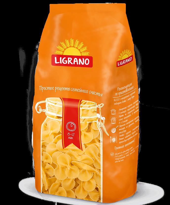 Макароны Лиграно бантики